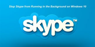 How to Disable Skype from Running in the Background on Windows 10