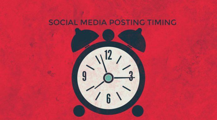 SOCIAL MEDIA POSTING TIMINGS