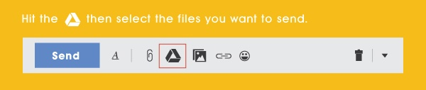 Send Massive File Using Google Drive
