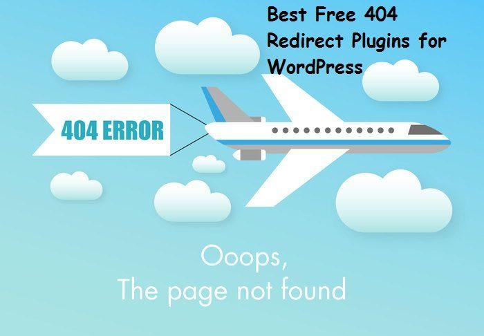 Best Free 404 Redirect Plugins for WordPress