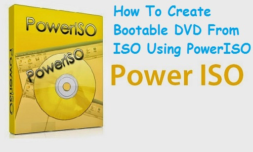 how to write iso to bootable dvd