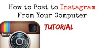how to upload photos to instagram from pc without bluestacks