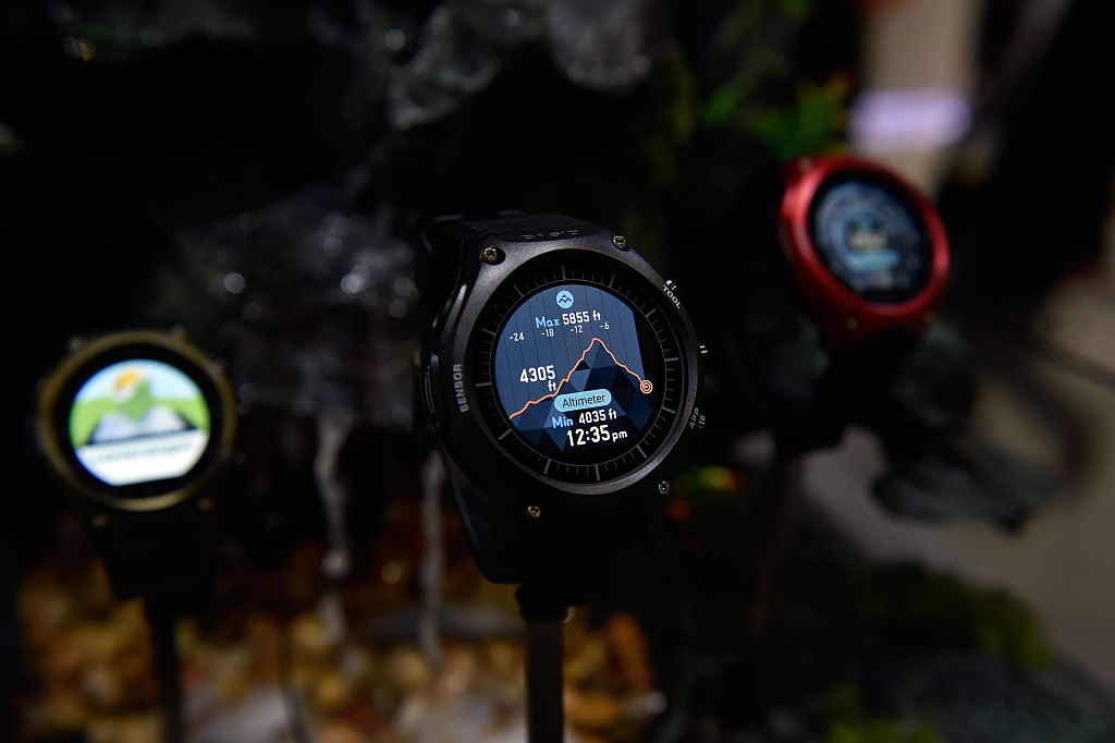 Casio WSD-F20 At CES 2017 Android Wear 2.0