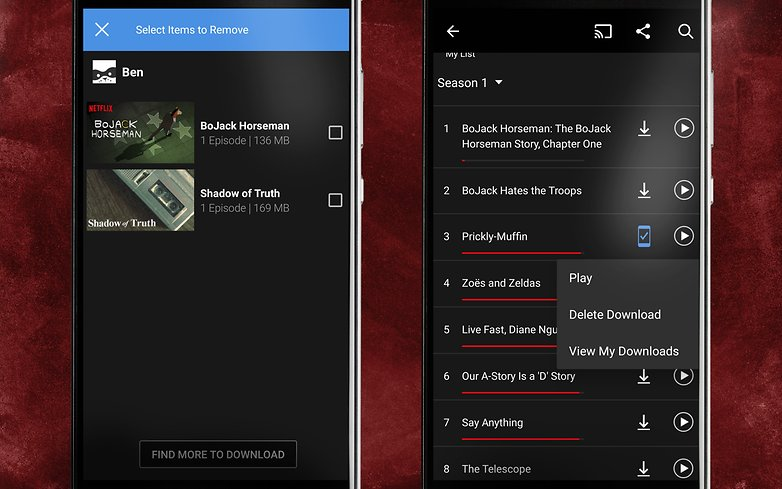 how to download netflix video offline in android