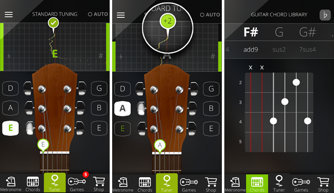 guitar learning appp