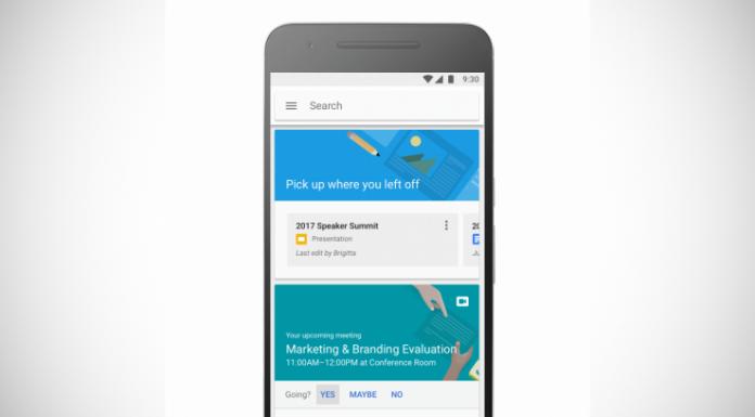 Google debuts Cloud Search