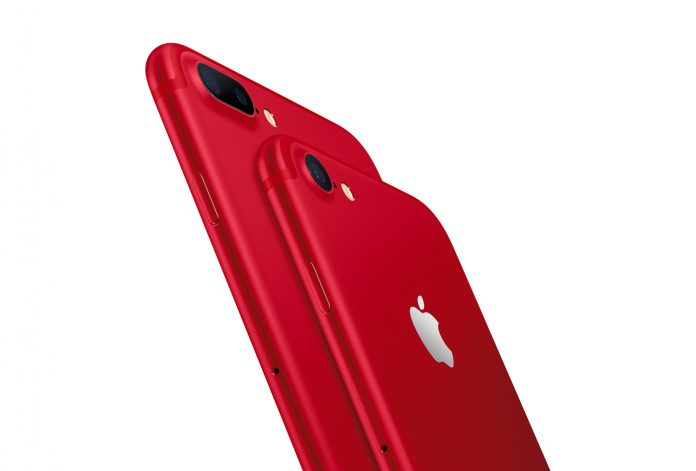 limited edition iphone 7 and iphone 7 plus red