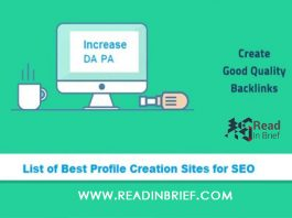 List of Best Profile Creation Sites for SEO
