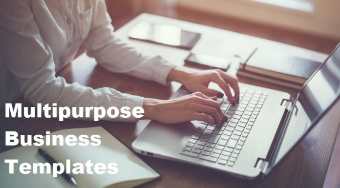 10 Stunning Multipurpose Templates for your Business Needs