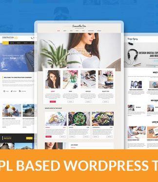 10 Best GPL WordPress themes