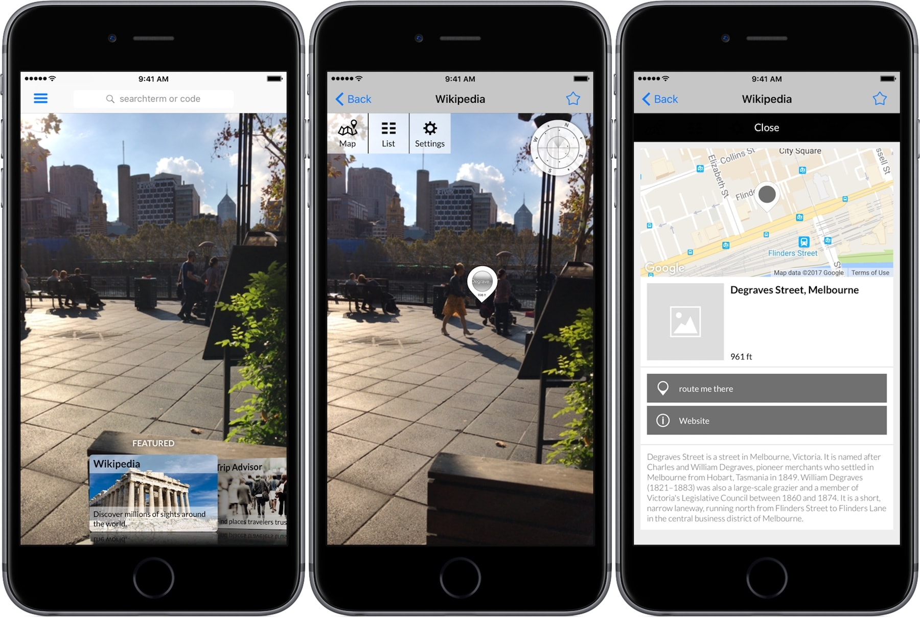 Wikitude AR app for iPhone