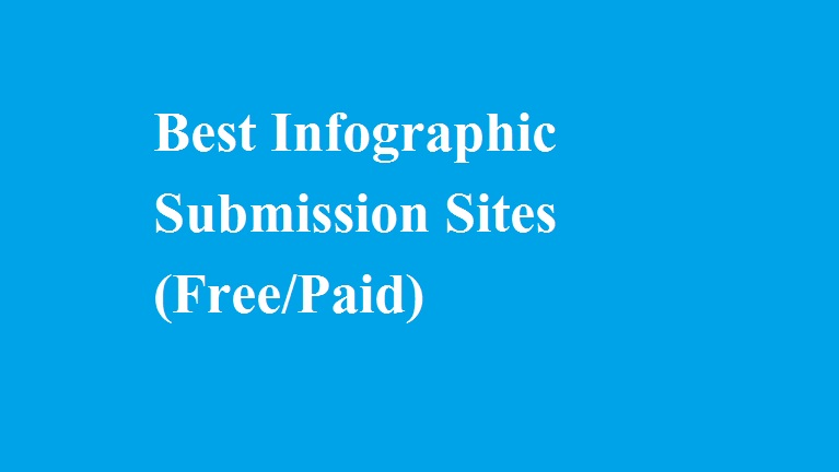 Infographic submission sites list 2018