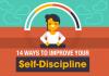 14 Methods to Improve Your Self-Discipline (Infographic)