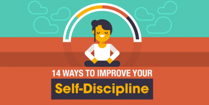 14 Methods to Improve Your Self-Discipline (Infographic)