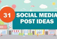 Fill Your Social Media Calendar With 31 Post Ideas