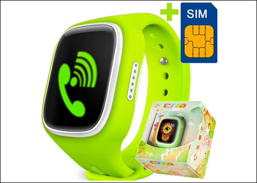 one of best GBD Children Smart Watch for tracking location
