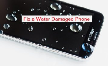 fix a water damaged phone