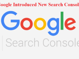 Google introduced new search console
