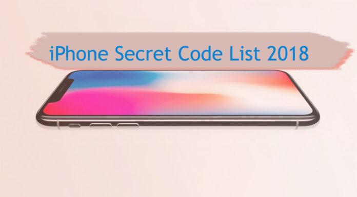 iphone secret code list 2018