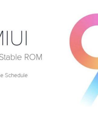 Xiaomi MIUI 9