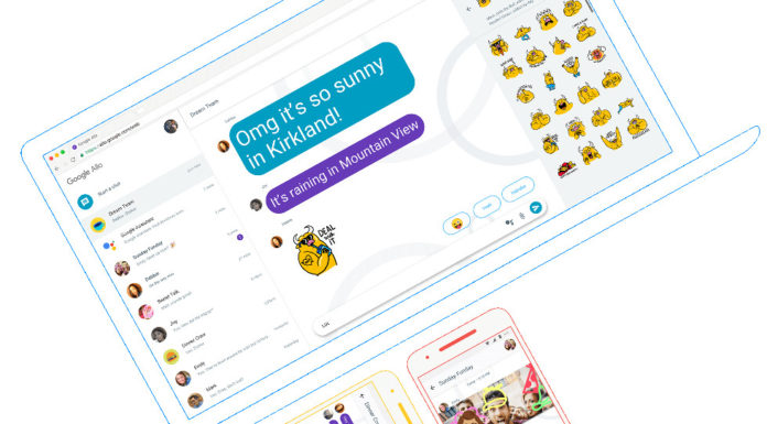 Google Redesigning Allo for web To Work Without Phones