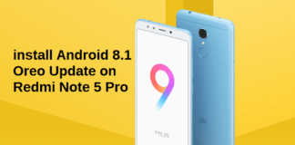 How to install Android 8.1 Oreo Update on Redmi Note 5 Pro [Official Firmware]