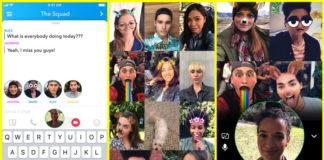 Snapchat Group Video Chats