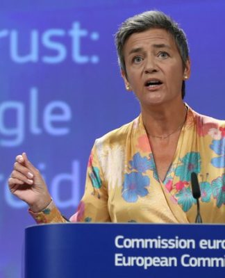Google fined £3.8bn by EU over Android antitrust violations