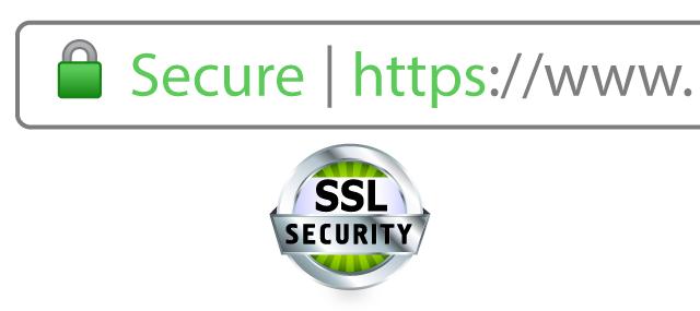 SSL secured sites