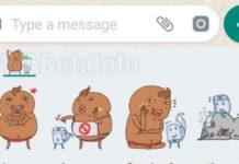 WhatsApp Sticker updates