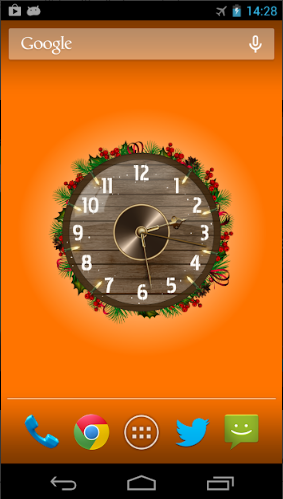 Analog Clock Wallpaper, Widget for android