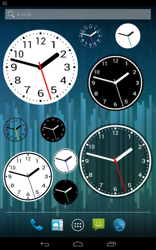 Simple Analog Clock